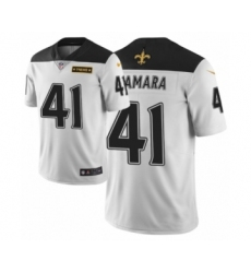 Men New Orleans Saints #41 Alvin Kamara White Nike City Edition Jersey