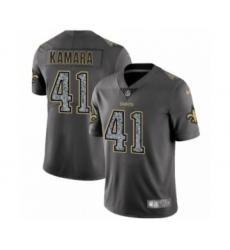 Men's New Orleans Saints #41 Alvin Kamara Limited Gray Static Fashion Limited Football Jersey