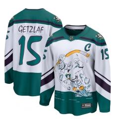 Men's Anaheim Ducks #15 Ryan Getzlaf Fanatics Branded White 2020-21 Special Edition Breakaway Player Jersey