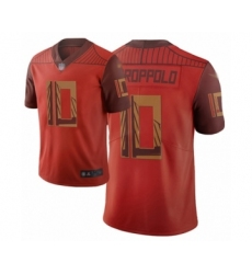 Men's San Francisco 49ers #10 Jimmy Garoppolo Limited Red City Edition Football Jersey