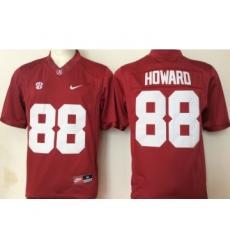 Alabama Crimson Tide 88 O.J. Howard Red College Football Jersey