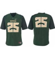 Baylor Bears 25# Lache Seastrunk Green College Football Nike NCAA Jerseys