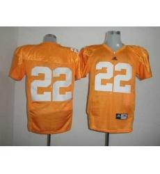 Vols #22 Rod Wilks Orange Embroidered NCAA Jersey