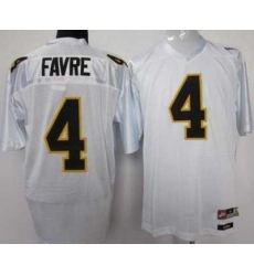 Southern Mississippi Gold Eagles #4 Brett Favre White NCAA Jerseys