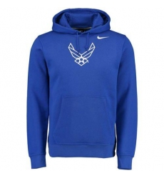 Air Force Falcons Nike Royal Big Logo Fleece Hoodie