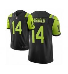Women's New York Jets #14 Sam Darnold Limited Black City Edition Football Jersey