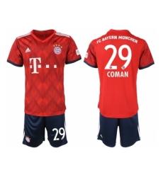 2018-2019 Bayern Munich home 29 Club Soccer Jersey
