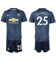 2018-2019 Manchester united away 25 Club Soccer Jersey