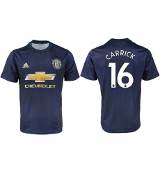 2018-2019 Manchester united away aaa version 16 Club Soccer Jersey