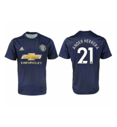 2018-2019 Manchester united away aaa version 21 Club Soccer Jersey