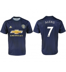 2018-2019 Manchester united away aaa version 7 Club Soccer Jersey