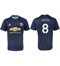 2018-2019 Manchester united away aaa version 8 Club Soccer Jersey