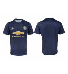 2018-2019 Manchester united away aaa version blank Club Soccer Jersey
