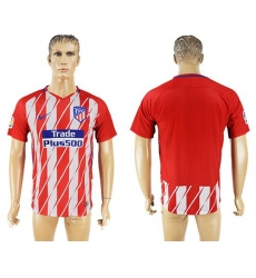 Atletico Madrid Blank Home Soccer Club Jersey3