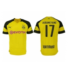 2018-2019 Dortmund home aaa version 17 Club Soccer Jersey