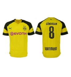 2018-2019 Dortmund home aaa version 8 Club Soccer Jersey