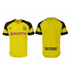2018-2019 Dortmund home aaa version blank Club Soccer Jersey