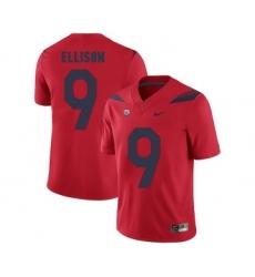 Arizona Wildcats 9 Tony Ellison Red College Football Jersey