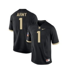 Army Black Knights 1 Marcus Hyatt Black College Football Jersey