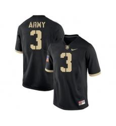 Army Black Knights 3 Jordan Asberry Black College Football Jersey