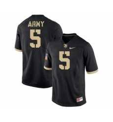 Army Black Knights 5 Kell Walker Black College Football Jersey