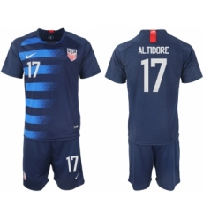 2018-19 USA 17 ALTIDORE Away Soccer Jersey
