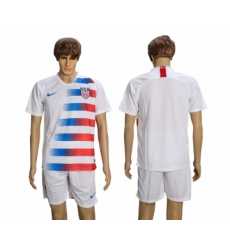 2018-19 USA Home Soccer Jersey