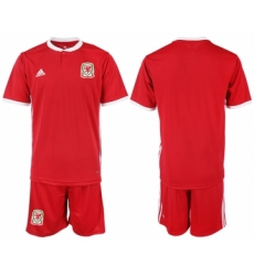 2018-19 Welsh Home Soccer Jersey