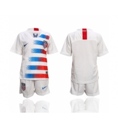 2018-19 USA Home Youth Soccer Jersey