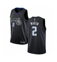 Men's Orlando Magic #2 Jarell Martin Authentic Black Basketball Jersey - City Edition