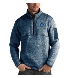 Men's Toronto Maple Leafs Antigua Fortune Quarter-Zip Pullover Jacket Royal