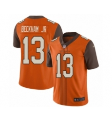Youth Cleveland Browns #13 Odell Beckham Jr. Limited Orange City Edition Football Jersey