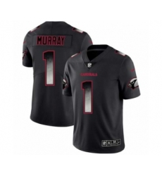 Men Arizona Cardinals #1 Kyler Murray Black Smoke Fashion Limited Jersey