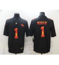 Men's Arizona Cardinals #1 Kyler Murray Black colorful Nike Limited Jersey