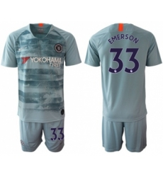 Chelsea #33 Emerson Third Soccer Club Jersey