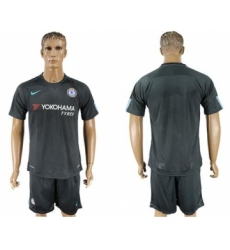Chelsea Blank Black Soccer Club Jersey