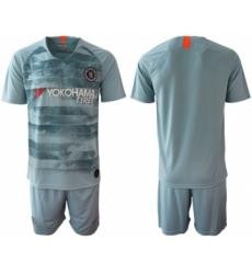 Chelsea Blank Third Soccer Club Jersey