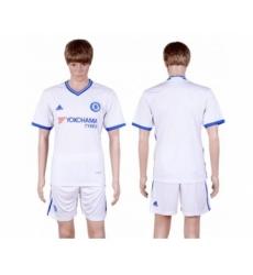 Chelsea Blank White Soccer Club Jersey