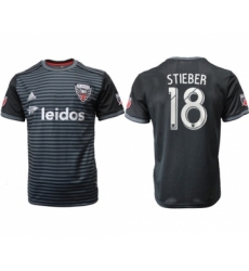 D.C. United #18 Stieber Home Soccer Club Jersey