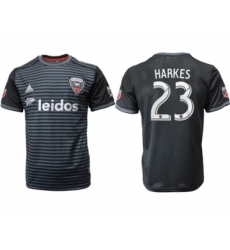D.C. United #23 Harkes Home Soccer Club Jersey