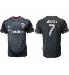 D.C. United #7 Arriola Home Soccer Club Jersey