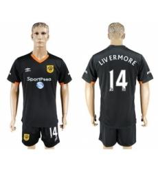 Hull City #14 LIV ERMORE Away Soccer Club Jersey