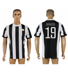 Juventus #19 Bonucci 120th Anniversary Soccer Club Jersey