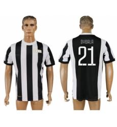 Juventus #21 Dybala 120th Anniversary Soccer Club Jersey