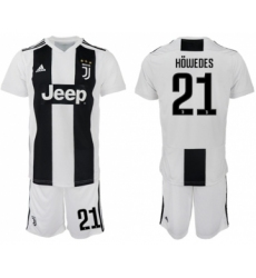 Juventus #21 Howedes Home Soccer Club Jersey