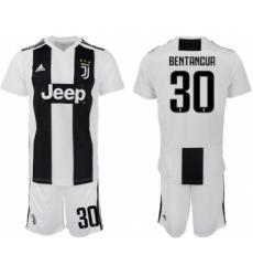 Juventus #30 Bentancur Home Soccer Club Jersey