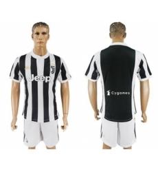 Juventus Blank White Soccer Club Jersey