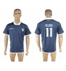 Lazio #11 Klose Away Soccer Club Jersey