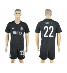 Oporto #22 Danilo Away Soccer Club Jersey