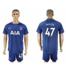 Tottenham Hotspur #47 Miller Away Soccer Club Jersey